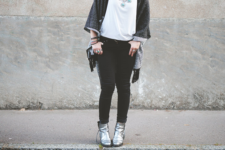 6_look_blog_mode_poncho_new_look_jean_slim_levis_boots_acne_pistol_silver