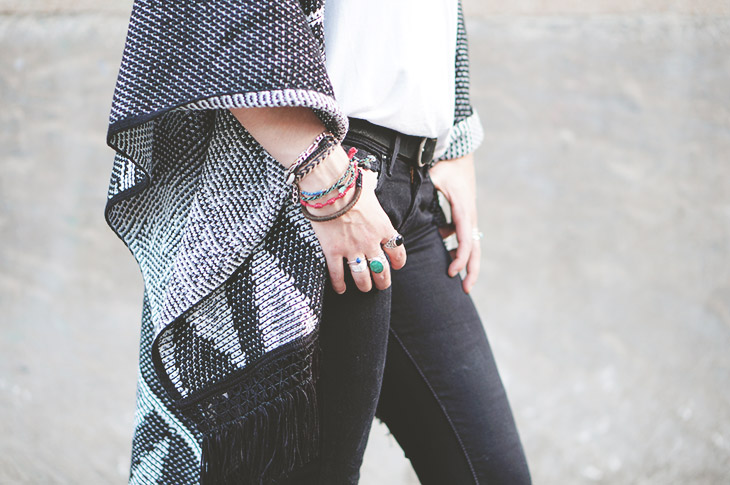 7_look_blog_mode_poncho_new_look_jean_slim_levis_boots_acne_pistol_silver