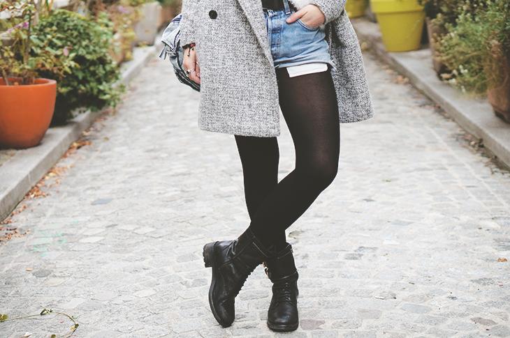 2_look_blog_mode_manteau_vero_moda_sojeans_short_levis_501_sac_dos_petitsesame_boots_motardes_jonak