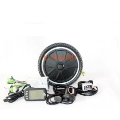 Electric Scooter Motor Controller Wiring Diagram Abdominal Aorta 250w E Hub Kit 45mm L Faster Com Brushless 24v 36v 48v