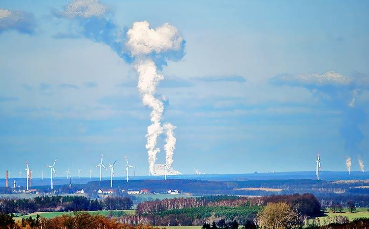 Kraftwerk Schwarze Pumpe ein BraunkohleGrokraftwerk CO2Abscheidung Pilotanlage Bilder Fotos