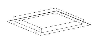 Diapar Alo frameless recessed light