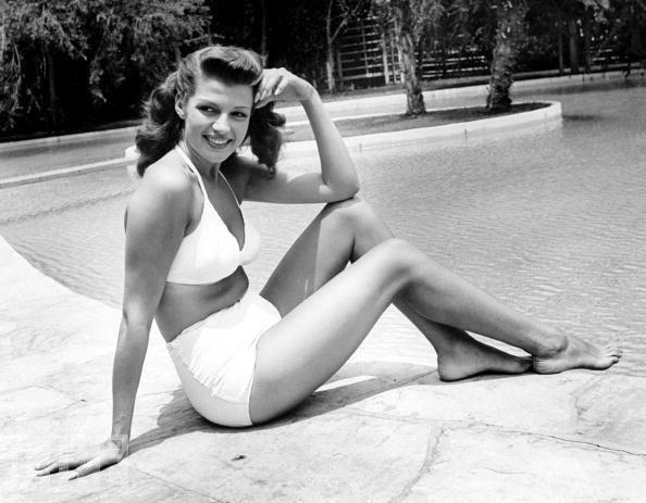 Fashion Model Rita Hayworth