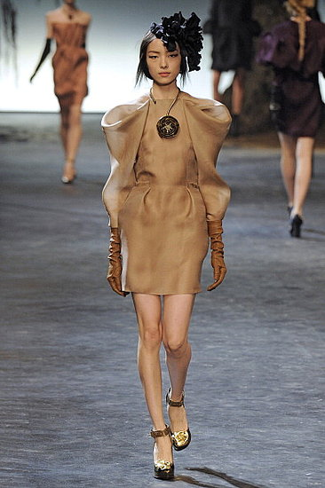 Top Model for Lanvin Fall 2011