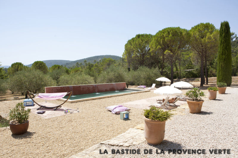 guesthouse provence swimming pool