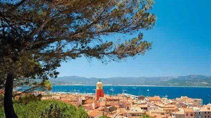Saint-Tropez in south of France