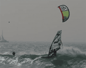 Windsurf, kitesurf and paddle surf in France, Almanarre