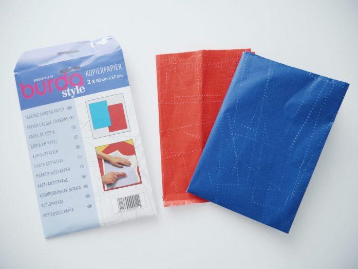 Grundausstattung Nähen - was braucht man zum Nähen - Kopierpapier