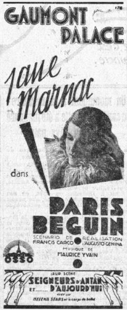 Le Petit Parisien du 09 octobre 1931