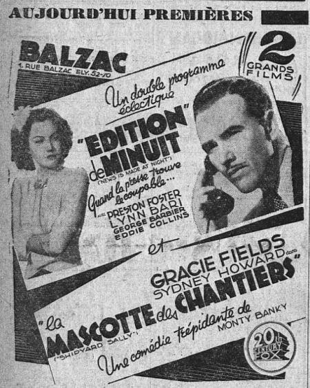 l'Intransigeant du 24 août 1939