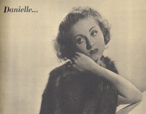 Danielle Darrieux dans Pour Vous 18.03.1937
