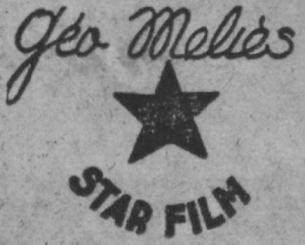le logo de la Géo Meliès Star Film (Ce Soir 1937)