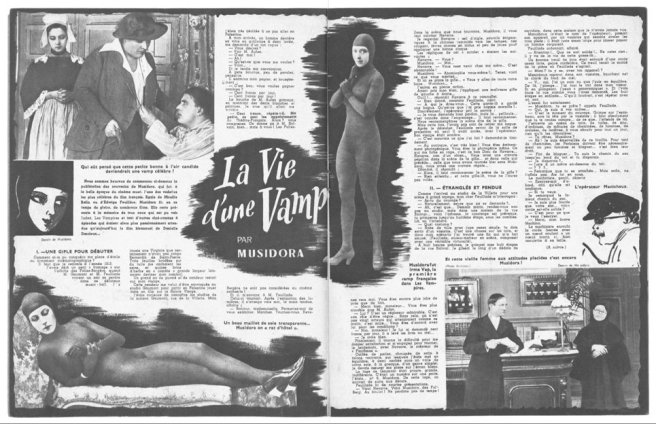 La Vie d'une Vamp par Musidora (Cinémagazine 1942)