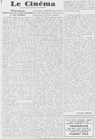 Les Nouvelles Littéraires daté du 06 octobre 1926