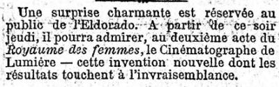 Le Figaro du 26 mars 1896