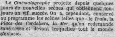 Le Petit Parisien du 24 février 1896