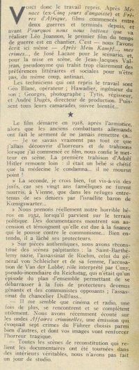 Pour Vous du 08 novembre 1939