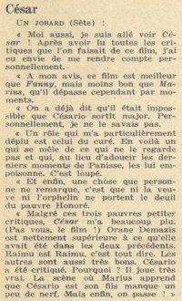 Pour Vous daté du 21 janvier 1937