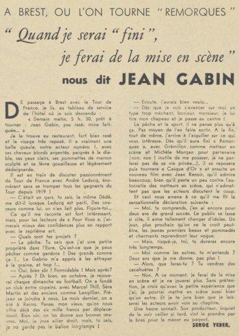 Pour Vous du 19 Juillet 1939