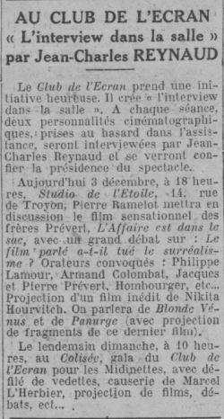 Comoedia du 03 décembre 1932