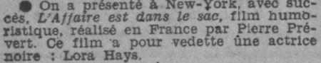 Paris-Soir du 6 avril 1933