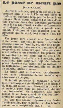 Pour Vous du 6 Juin 1929