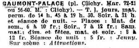 La Semaine à Paris du 6 novembre 1936
