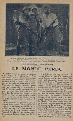 Cinémagazine du 3 juillet 1925