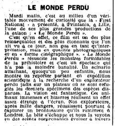 Les Spectacles du 7 août 1925