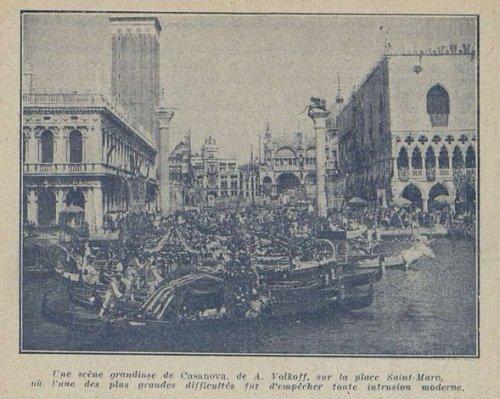 Cinémagazine du 5 août 1927