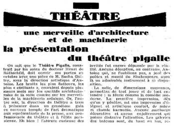 La Semaine à Paris du 28 juin 1929
