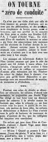 Le Petit Journal du 13 janvier 1933