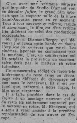 Comedia du 14 février 1929