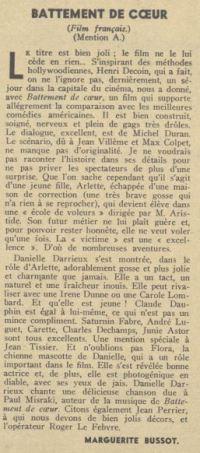 paru dans Pour Vous du 14 février 1940