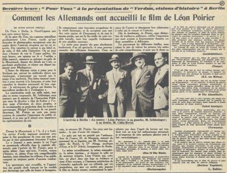 paru dans Pour Vous du 20 juin 1929