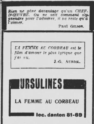paru dans Les Nouvelles Litteraires du 23 novembre 1929