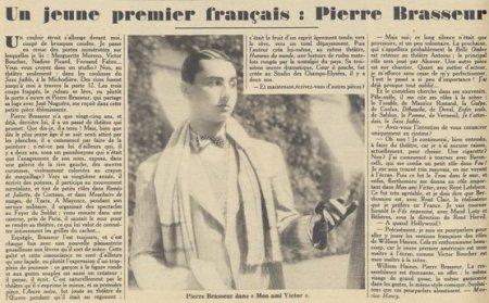 paru dans Pour Vous du 21 mai 1931