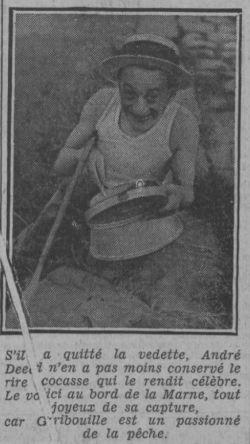 paru dans Paris-Soir du 6 juillet 1932