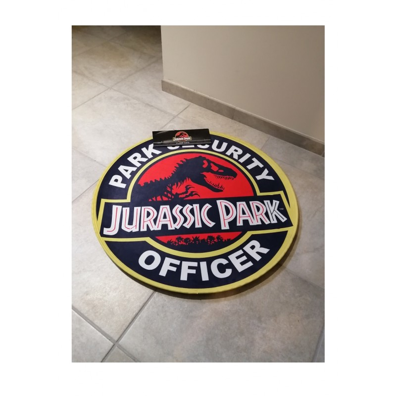 tapis de sol jurassic park park security officer