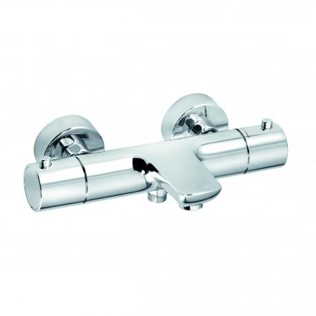 mitigeur thermostatique bain douche chrome objekta kludi