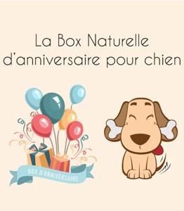 La box naturelle d'anniversaire chien