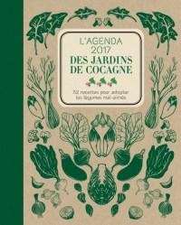 L'agenda des jardins de cocagne, avec une recette par semaine autour d'un légume.