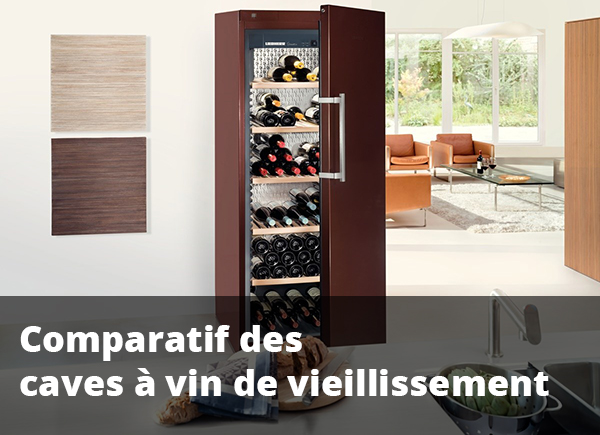 Comparatif des meilleures caves à vin de vieillissement