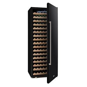 Klarstein Botella Cura • Cave à vin • Réfrigérateur pour boissons • Réfrigérateur gastronomie • 558 Litres • 224 Bouteilles • 17 étagères • Commande tactile • Écran LCD • Éclairage LED • Noir