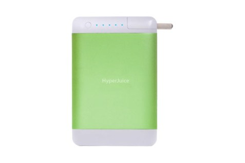 Batterie HyperJuice Plug 15600 mAh Vert