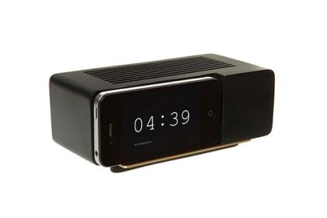Support Alarm Dock pour iPhone 4/4S (Noir)