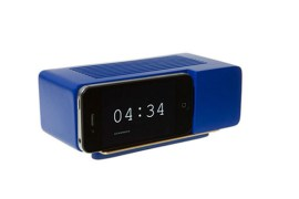 Support Alarm Dock pour iPhone 4/4S (Bleu)