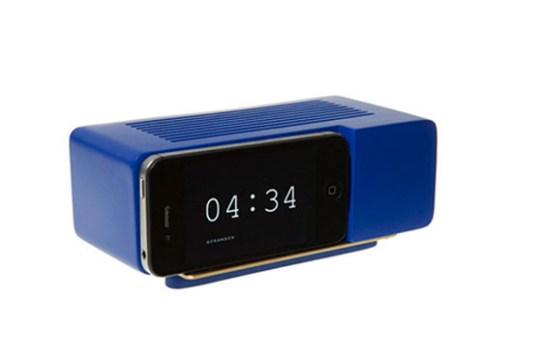 Support Alarm Dock pour Smartphone – Bleu