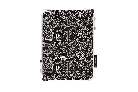 Housse iPad Mini People – Keith Haring Collection (Noir)