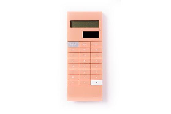 Calculatrice Clip Graphia (Fraise Rose)
